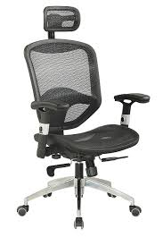 Lift Seat For Chair Amazon Com Chintaly Imports 4025 Mesh Seat And Back With Headrest