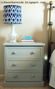 on the v side new look nightstand ikea rast hack