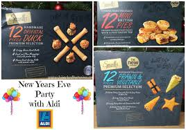 hijacked by twins new years eve party food with aldi