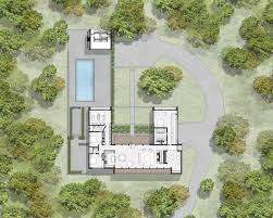 modern architecture floor plans 48 best u shaped houses plans images on