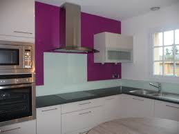 mur de cuisine cuisine moderne avec mur en
