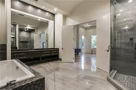 modern master bathroom ideas modern master bathroom with high ceiling undermount sink in