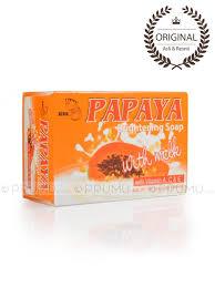 Sabun Rdl jual rdl sabun papaya 135 gram brightening soap milk prumu