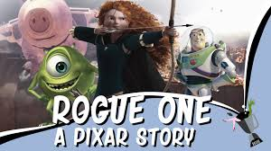 a mashup of pixar u0027s animated films and the second rogue one trailer