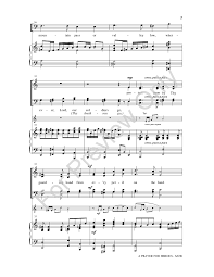 our satb choral score by pepp j w pepper sheet