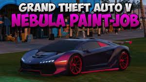 gta 5 secret paint job amazing nebula custom respray guide in