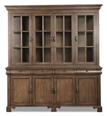Hutch Furniture Dining Room Magnolia Home Traditional Buffet And Hutch Levin Furniture