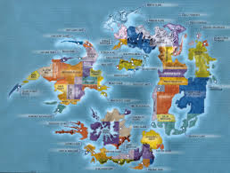 Fantasy World Maps by Map Of Ff8 Fantasy World Maps Pinterest Final Fantasy