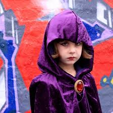 Beast Boy Halloween Costume Easily Raven Costume Cloak Instructions