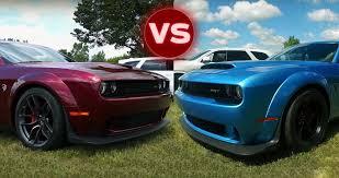 chrysler 300 hellcat 2018 dodge demon vs hellcat challenger u2013 major differences