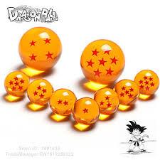 aliexpress buy dragon ball crystal balls 7cm 7 5cm 7 pcs