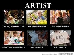 Artist Meme - trying to compliment an artist by dr l3utt 53x 69 meme center