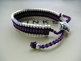friendship bracelet links images Trap cut links of london friendship bracelet black and purple jpg