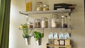 kitchen wall shelf with hooks