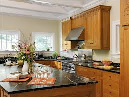 what color backsplash with honey oak cabinets how to the right paint color to go with your honey oak trim