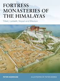 Map Of Nepal And Tibet by Fortress Monasteries Of The Himalayas Tibet Ladakh Nepal And
