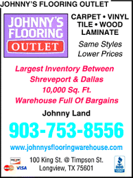johnny s carpet warehouse flooring outlet longview tx 75601