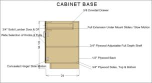 is the standard height of base kitchen cabinets cabinet dimensions