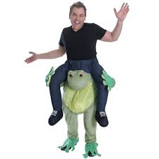 frog halloween costume adults piggyback frog costume fancy dress and party