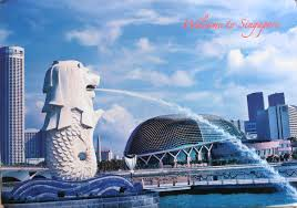 singapore lion the singapore merlion the world in my mailbox