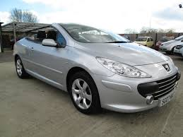 peugeot 307 cc used 2007 peugeot 307 cc s coupe cabriolet was 3500 now for sale