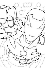 Iron Man Coloring Page Avengers Activities Marvel Hq Coloring Page Iron