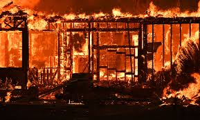 Wildfire Cali by In New Wildfire Reality California Town Decimated By Flames