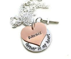 Personalized Memorial Necklace Personalized Tribute To Dad Memorial Necklace Moments Of Heaven