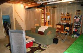Ideas For Unfinished Basement Low Budget Unfinished Basement Ideas Unfinished Basement Ideas