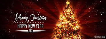 merry christmas and happy new year 2017 facebook cover photo