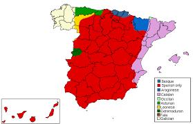 Maps Of Spain Languages Of Spain U2022 Mapsof Net