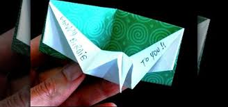 How To Make Origami Greeting Cards - how to make an origami birthday pop up card 皓 origami wonderhowto