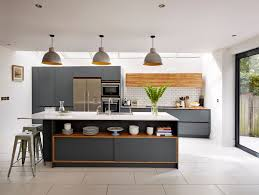 Made To Measure Kitchen Cabinets Grey Kitchen Cabinets With White Countertops Outofhome