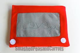a project for the hubby etch a sketch ipad cozy smashed peas