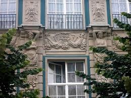 file few building ornaments at długi targ square in gdańsk jpg