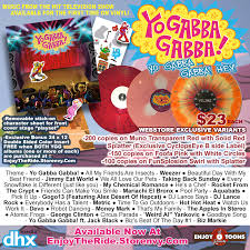 yo gabba gabba hey enjoy ride records store store
