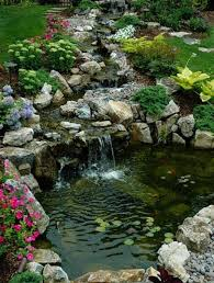 Backyard Waterfall Ideas by 35 Dreamy Garden With Backyard Waterfall Ideas Landscaping