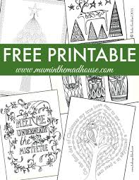 chrismas coloring pages free christmas colouring pages for adults and teens mum in the