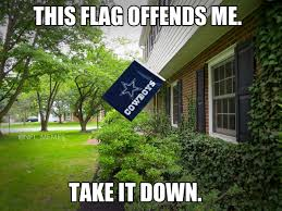 Cowboys Flag This Offends Many Americans Rebrn Com