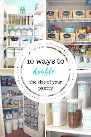 Kitchen Organization Hacks by Best 10 Organize Small Pantry Ideas On Pinterest Small Pantry