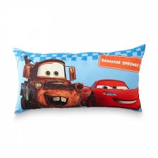 disney cars kid u0027s body pillow lightning mcqueen u0026 mater shop