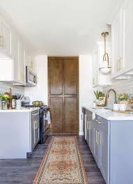cabinet lighting galley kitchen 25 functional galley kitchens with pros and cons digsdigs