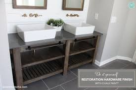 Restoration Hardware Bathroom Fixtures by Diy Restoration Hardware Finish With Chalk Paint Avanti Morocha