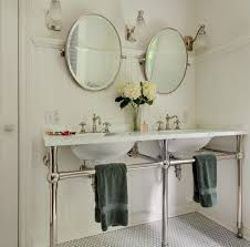 Beachy Bathroom Mirrors by New York Bathroom Tile Ideas Mirror Beach Style With Contemporary