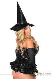 plus size sequin witch corset steel boned corset dress costume