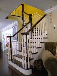 Installing Balusters And Handrails Wood Stairs And Rails And Iron Balusters Install Repair Replace