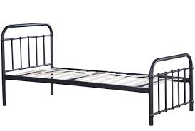 pretentious single metal bed frame home beds frames alder genwitch