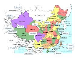 Guilin China Map by China Along The Way