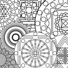 printable abstract coloring pages sun mandala coloring pages