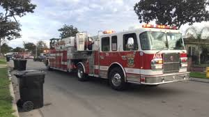 anaheim fire rescue truck 6 responding arriving youtube
